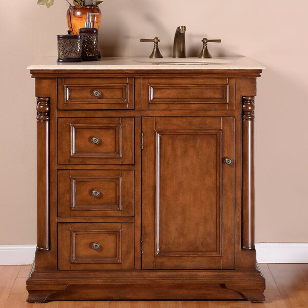 36 Single Sink Cabinet Bathroom Vanity Set by Astoria Grand
