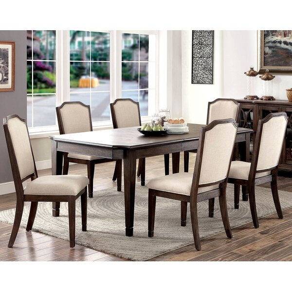 Harris 7 Piece Dining Set by A&J Homes Studio