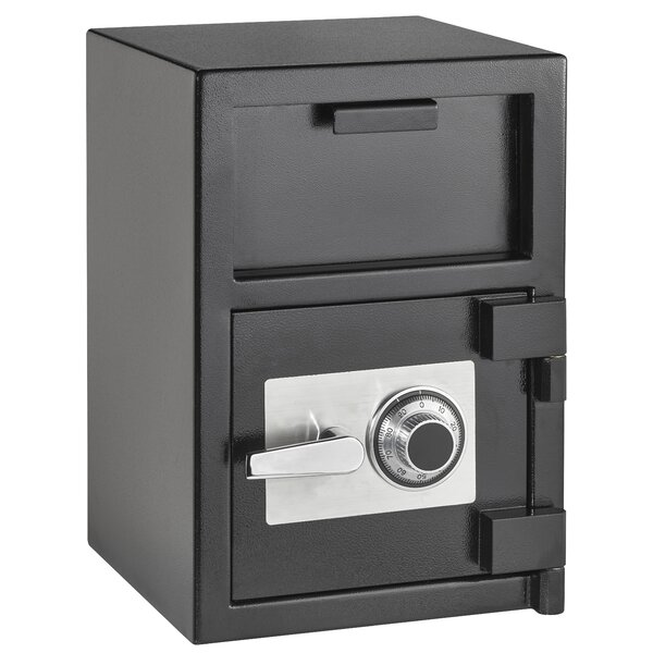 Hopper Loading Safe Box with Dial/Combination Lock by AdirOffice