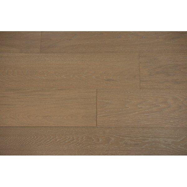 Venice 6-1/2 Engineered Oak Hardwood Flooring in Biscotti by Branton Flooring Collection