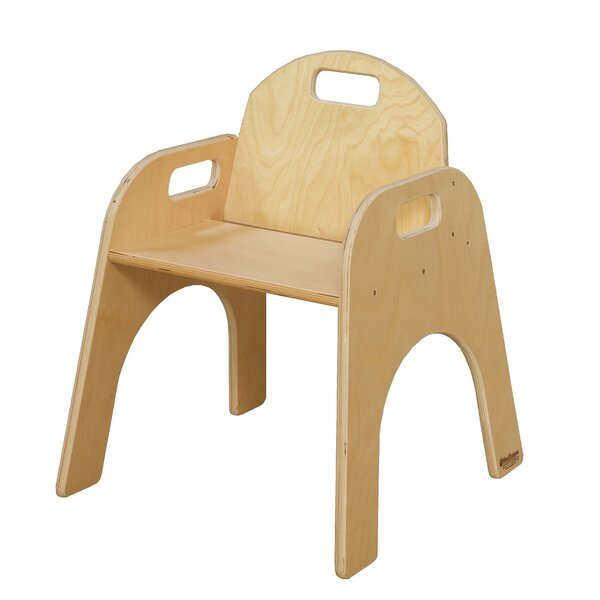 Solid Wood Classroom Chair by Wood Designs