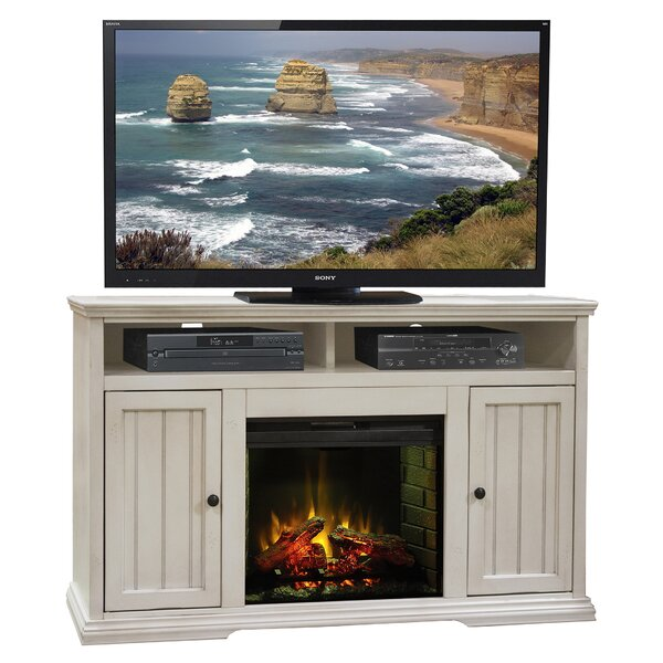 Helene 59 TV Stand with Fireplace by Beachcrest Home