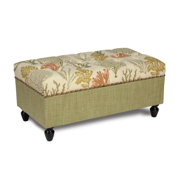 Caicos Tufted Storage Ottoman by Eastern Accents