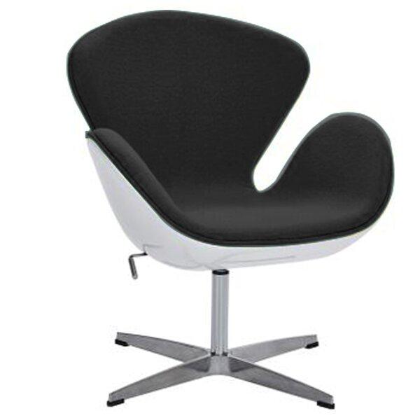Joann Swivel Lounge Chair by Orren Ellis