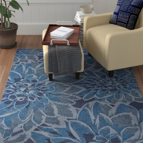 Sang Hand Tufted Gulf Indoor/Outdoor Area Rug by Winston Porter