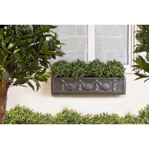 Osterley Fiberglass Window Box Planter Astoria Grand Size: M