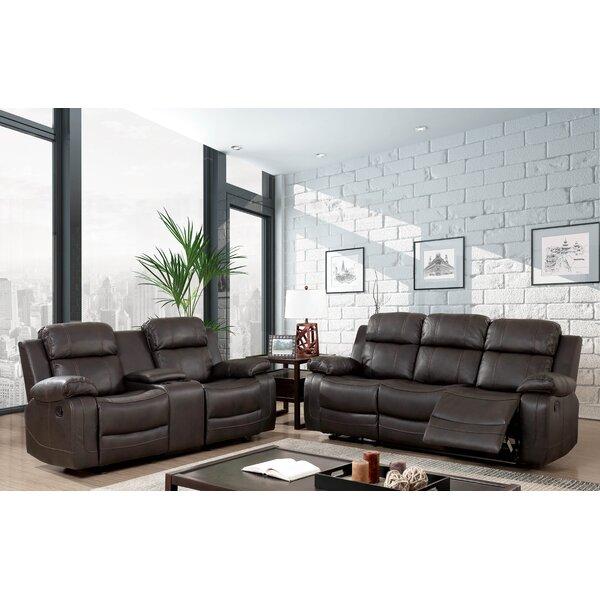 Kogelscha Reclining Configurable Living Room Set by Red Barrel Studio
