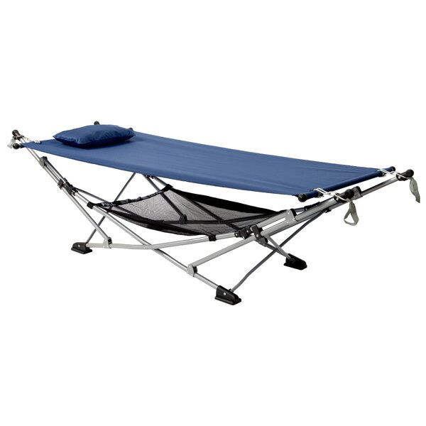 Holliston Slumber Camping Hammock with Stand by Freeport Park