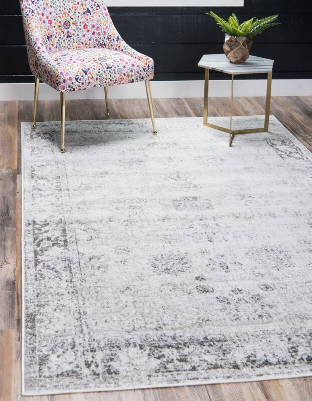 Brandt Light Gray Area Rug