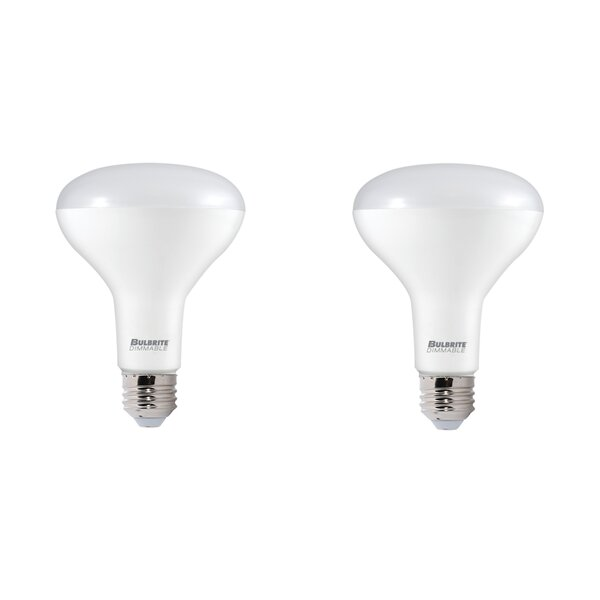 9W E26 Dimmable LED Spotlight Light Bulb (Set of 2) by Bulbrite Industries