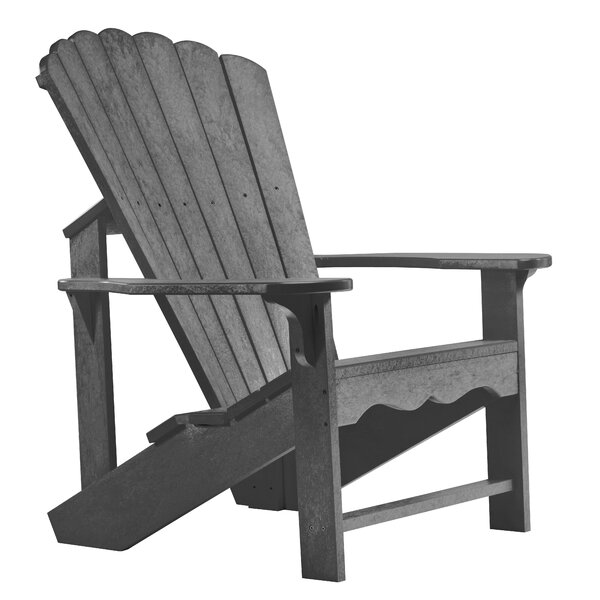 Zander Plastic Adirondack Chair by Beachcrest Home