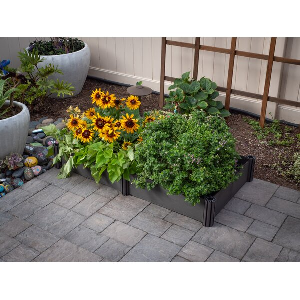 2U Bed Plastic Raised Garden by Watex