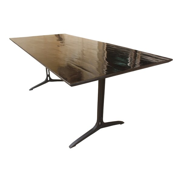 Kilmersdon Solid Wood Dining Table by Red Barrel Studio