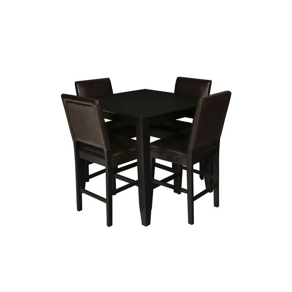 Isai 5 Piece Counter Height Dining Table Set by August Grove