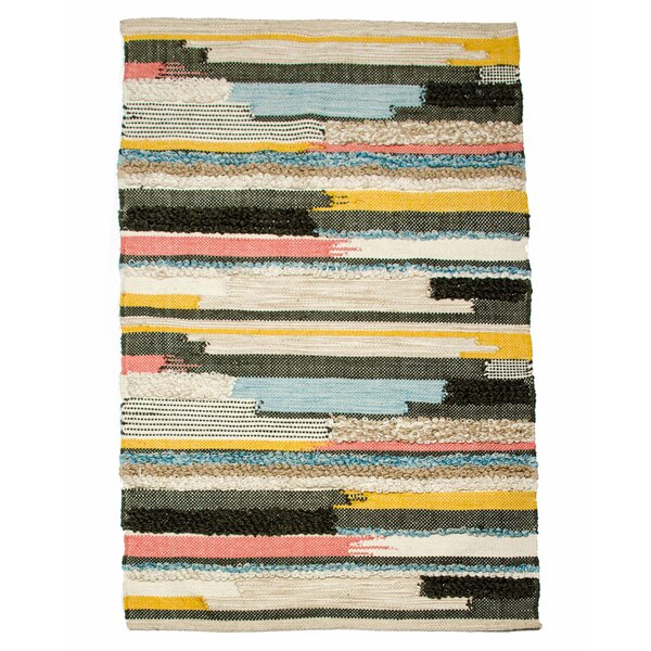 Earth Day Hand-Woven Multi Area Rug by CLM