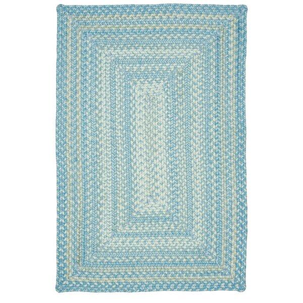 Blue Indoor/Outdoor Area Rug by Homespice Decor