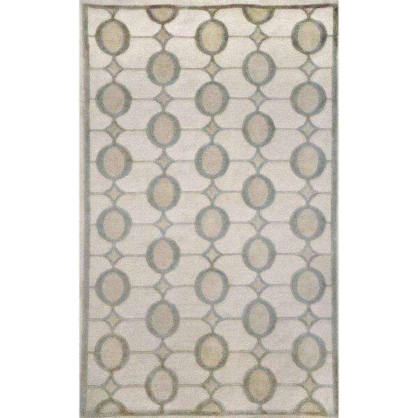 Palermo Ivory Neutral Arabesque Rug by Liora Manne