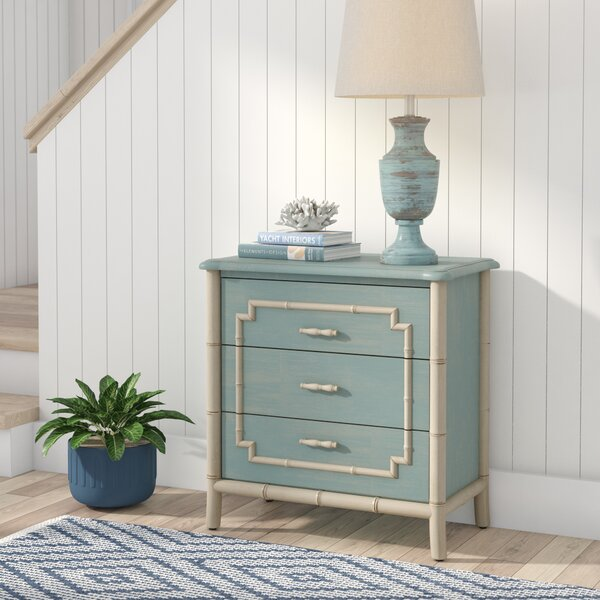 Serpentine 3 Drawer Accent Chest by Bay Isle Home