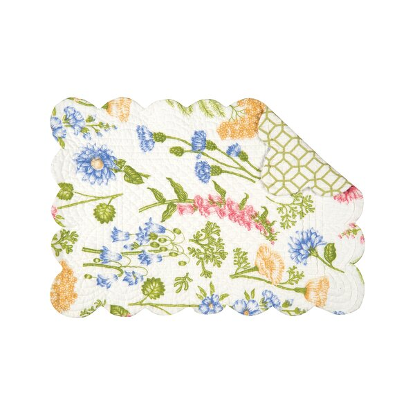 Jeanette 19 Placemat (Set of 6) by C&F Home