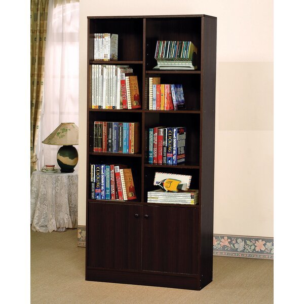 Chism Standard Bookcase with 2 Doors by Red Barrel Studio