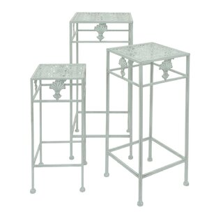 Berthold Metal 3 Piece Nesting Plant Stand Set by One Allium Way