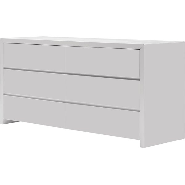 Blanche 6 Drawer Dresser by Mobital