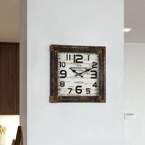Neema Wall Clock by 17 Stories
