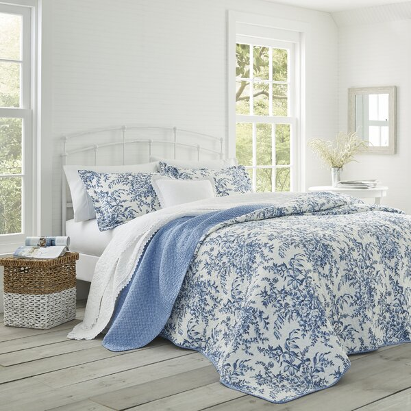 Bedford 3-Piece Quilt Set by Laura Ashley Home