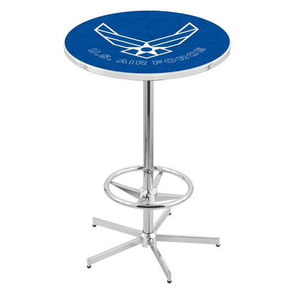 Military Pub Table by Holland Bar Stool