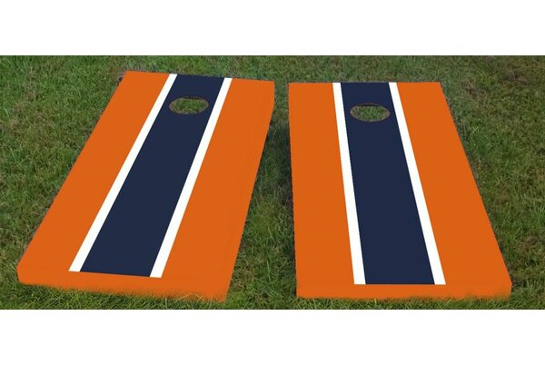 Auburn Cornhole Game (Set of 2) by Custom Cornhole Boards