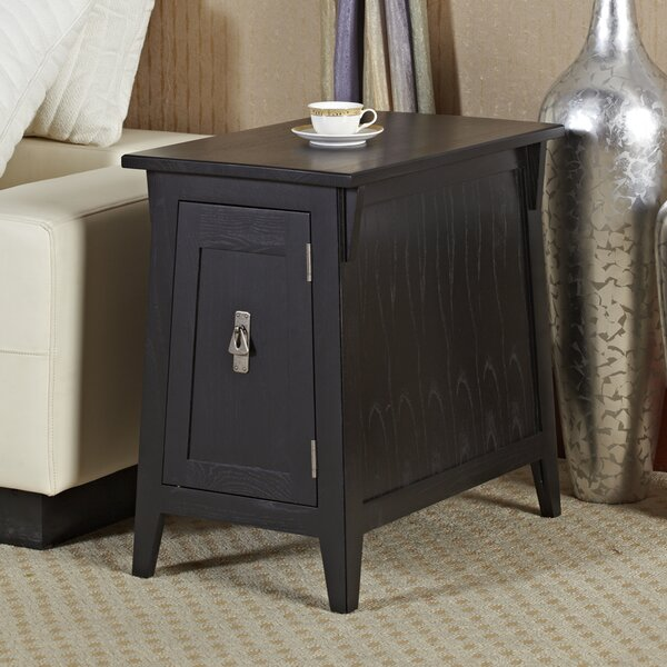 Wilfredo End Table with Storage by Charlton Home Charlton Home®