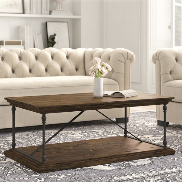 Boyd Floor Shelf Coffee Table By Kelly Clarkson Home