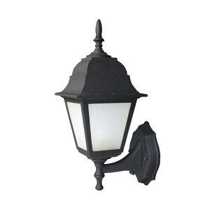 Compare & Buy Energy Saving 1-Light Outdoor Sconce By Woodbridge Lighting