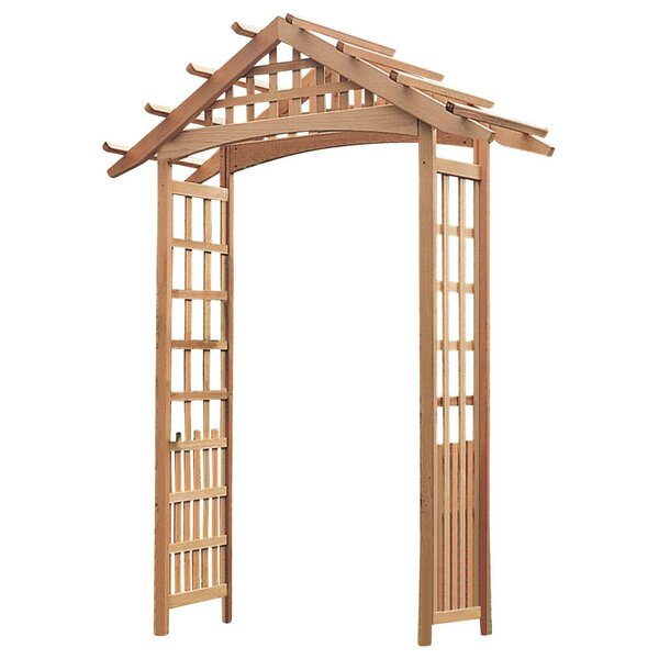 Phat Tommy Nantucket Wood Arbor by Buyers Choice