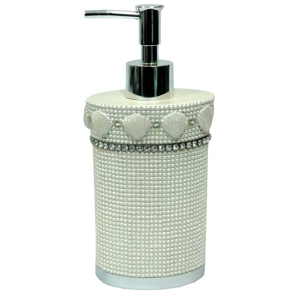 Shells & Diamonds Lotion Dispenser by Sweet Home Collection