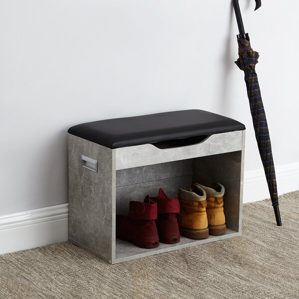 Compact Storage Bench by Ebern Designs