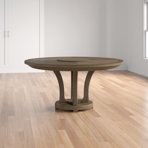Medfield Solid Wood Dining Table by Three Posts Three Posts