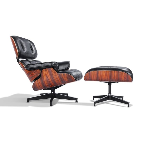 Deb Lounge Chair and Ottoman by Corrigan Studio