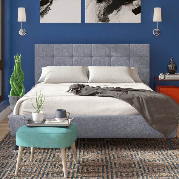 Auburndale Upholstered Platform Bed by Modern Rustic Interiors
