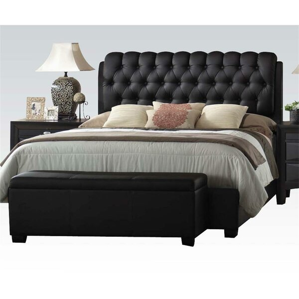 Welliver Upholstered Standard Bed by Canora Grey