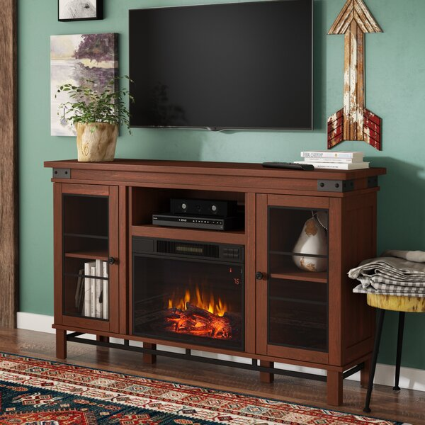 Alfson Media Electric Fireplace by Loon Peak