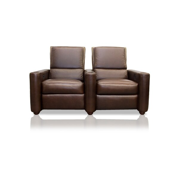 Barcelona Home Theater Row Seating Lounger (Row Of 2) By Bass