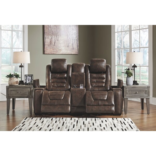 Review Clove Reclining Loveseat