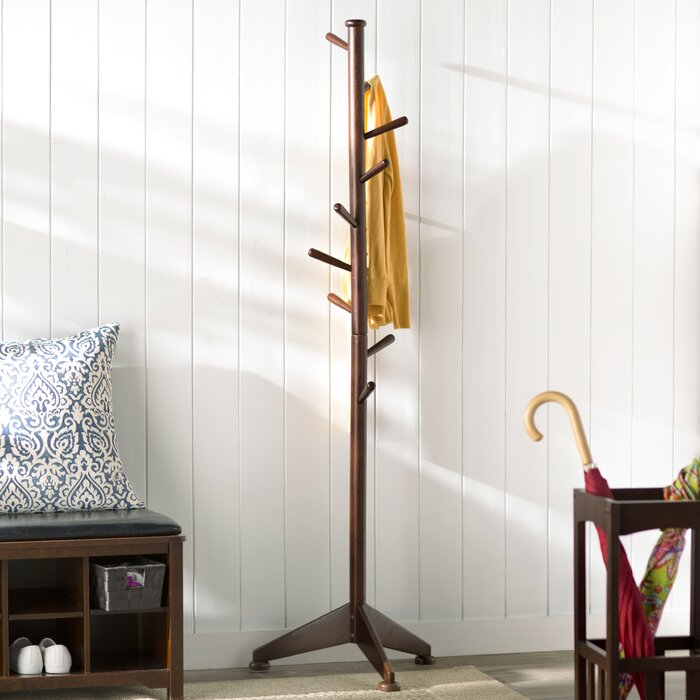 Charlton Home Lily Tree 40 Pegs Coat Rack Reviews Wayfairca Stunning Wayfair Coat Rack