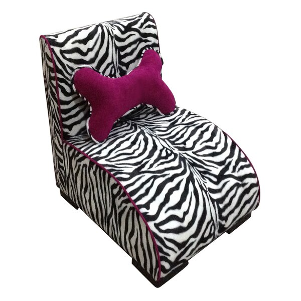 Upholstered Zebra Dog Lounge by ORE Furniture
