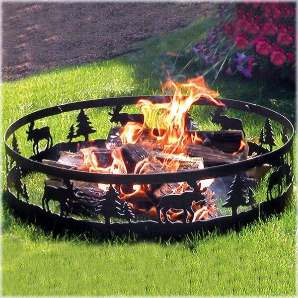 Moose Steel Wood Burning Fire ring by CobraCo