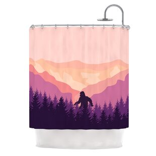 Big Foot Shower Curtain