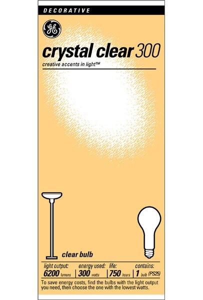 300W 130-Volt Incandescent Light Bulb by GE