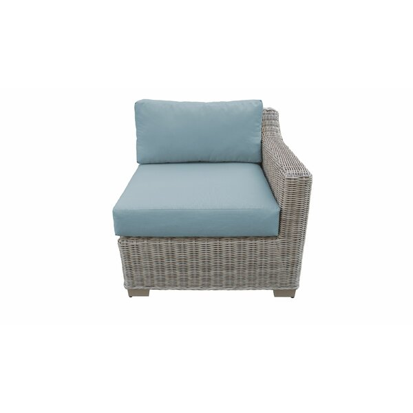 Claire Patio Chair with Cushions by Rosecliff Heights