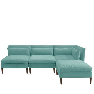 Alayna Modular Reversible Sectional with Ottoman by Brayden Studio SKU:DE812561 Check Price